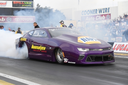 After losing ride in 2017, Nobile is back leading Pro Stock