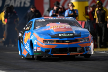 Laughlin gets Pro Stock provisional top spot on second pass