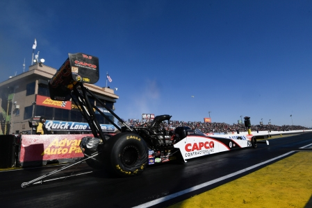 Steve Torrence (Photo by the NHRA)