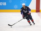 Brian Gionta is seen here playing for Team USA in the 2018 Olympics (Getty Images)