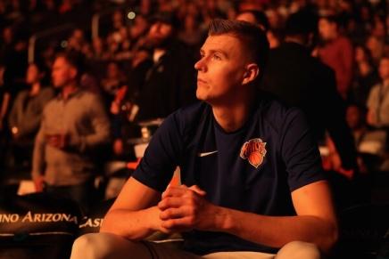 Knicks lose Porziņģis forseason