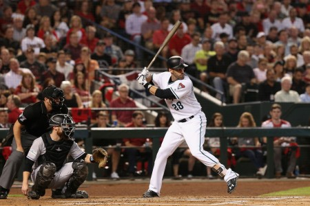 J.D. Martinez is seen here as a member of the Arizona Diamondbacks (Getty Images)