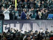 Super Bowl MVP Nick Foles and the Super Bowl-winning Philadelphia Eagles (Getty Images)