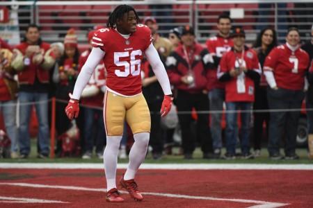 San Francisco 49ers linebacker Reuben Foster (Getty Images)
