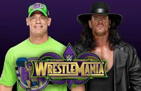 John Cena and The Undertaker