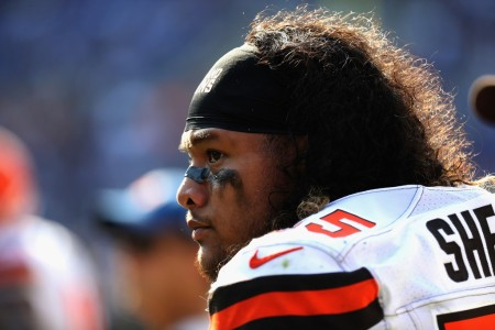 Danny Shelton is seen here as a member of the Cleveland Browns (Getty Images)