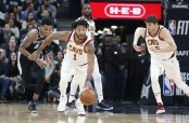 Derrick Rose is seen here as a member of the Cleveland Cavaliers (Getty Images)