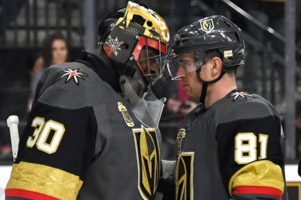 Golden Knights retire first jersey, No. 58