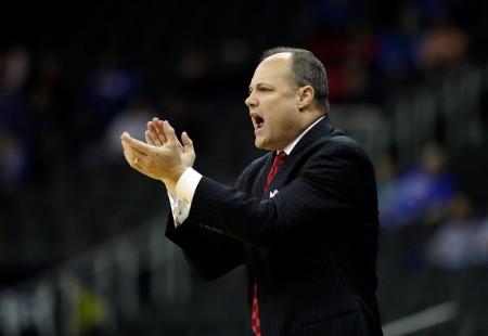 Mark Fox is seen here as the Georgia Bulldogs head coach (Getty Images)