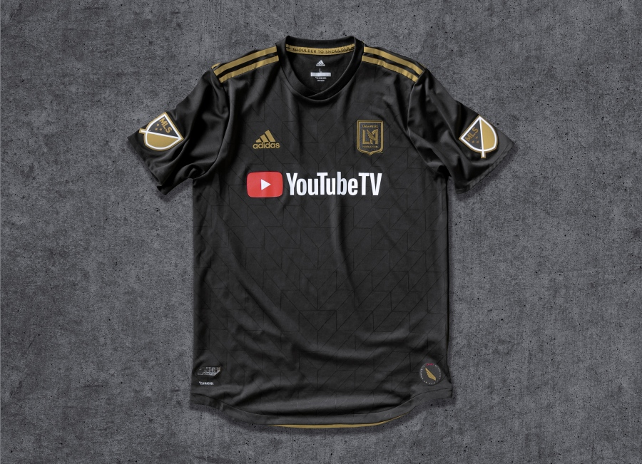 Los Angeles FC Kit (Photo by LAFC)