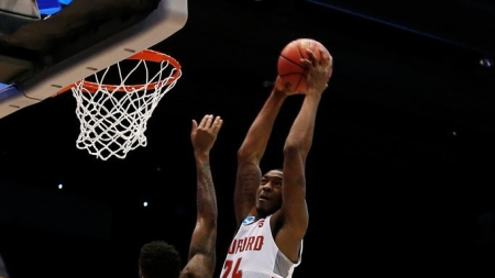 Radford's Ed Polite Jr. dunks on LIU Brooklyn's Zach Coleman in the NCAA Tournament (Getty Images)