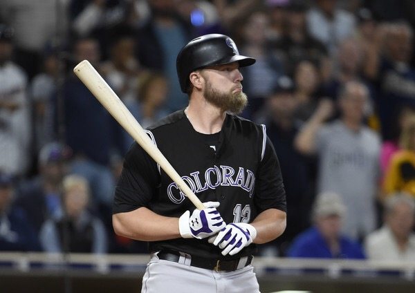 Mark Reynolds is seen here as a member of the Colorado Rockies (Getty Images)