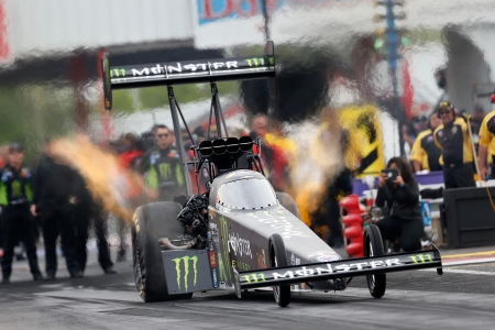 Brittany Force (Photo by Marc Gewertz/NHRA)