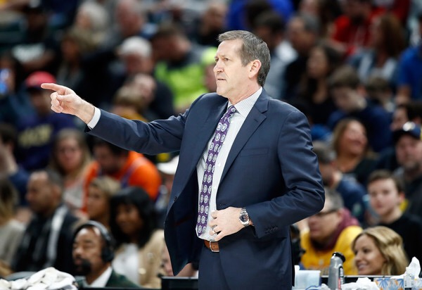 Jeff Hornacek is seen here as the Knicks head coach (Getty Images)