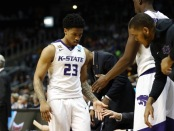 Amaad Wainright is seen here going to the bench during the NCAA Tournament (Getty Images)
