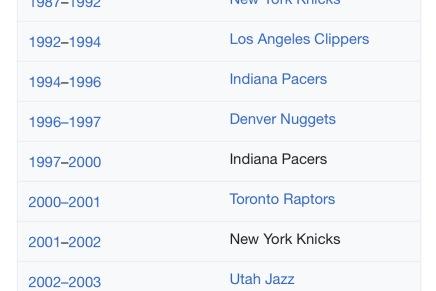 Wikipedia: Knicks hiredJackson