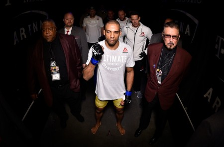 Edson Barboza at UFC 219 (Getty Images)