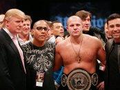 Fedor Emelianenko is seen here with Donald Trump (Getty Images)