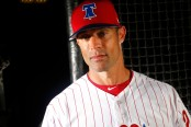 Gabe Kapler is seen here as the Philadelphia Phillies manager (Getty Images)