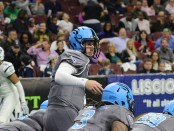 Philadelphia Soul quarterback Dan Raudabaugh (Photo by Anthony Caruso III)