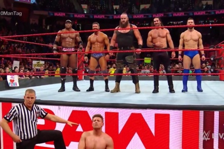 Monday Night Raw 4/16/2018