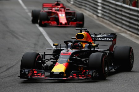 Daniel Ricciardo is seen here driving in the Monaco Grand Prix (Getty Images)