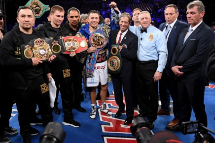 Golovkin easily defeats Martirosyan in second round