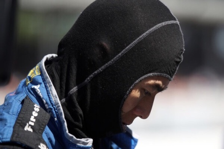Takuma Sato at the Indianapolis 500 (Getty Images)