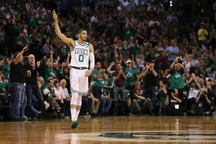 Rookie leads Celtics to Game 5victory