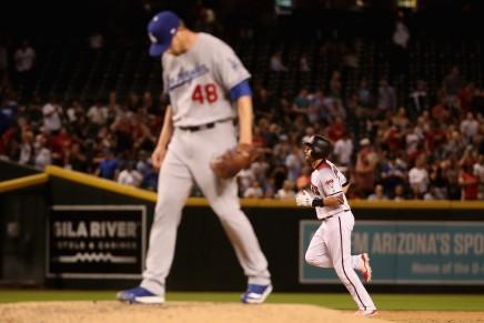 Pollock hits three home runs againstDodgers