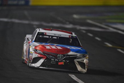 Busch dominates the Coca-Cola 600 in Charlotte