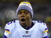 Teddy Bridgewater is seen here as a member of the Minnesota Vikings (Getty Images)