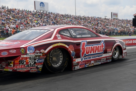 Summit Racing Equipment's Greg Anderson is the No. 1 qualifier in Richmond