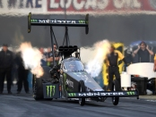 Brittany Force (Photo by the NHRA)