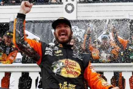 Truex Jr. won the Pocono 400
