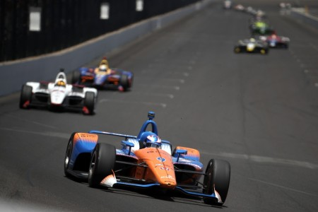 Scott Dixon during the 102nd running of the Indianapolis 500 (Getty Images)