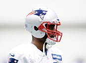 Brandin Cooks is seen here as a member of the New England Patriots (Getty Images)