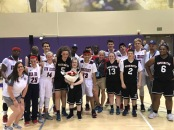 Team Washington and Team New Jersey after Wednesday's game (Photo by Moorestown's coach Brittany Shields)