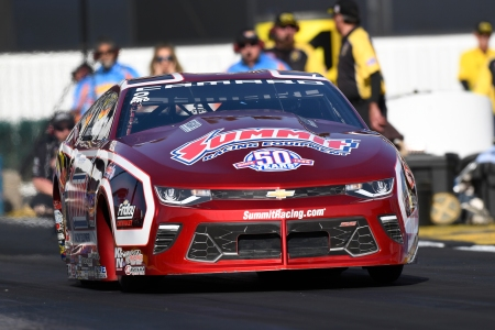 Greg Anderson Action Photo (Photo by the NHRA)