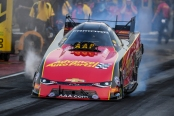 Courtney Force, the No. 1 qualifier at Bandimere Speedway (Photo by the NHRA)