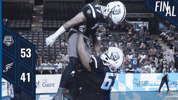 Baltimore Brigade sends the Philadelphia Soul home, as they advance to the ArenaBowl (Photo by the Baltimore Brigade)