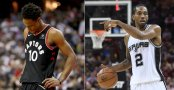 DeMar DeRozan and Kawhi Leonard (Getty Images)