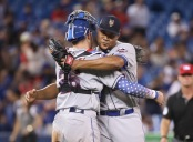 Jeurys Familia is seen here celebrating a New York Mets win (Getty Images)