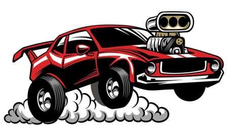 Drag Racing Clip Art