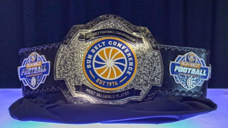 Sun Belt Conference Championship MVP belt (Photo by the Sun Belt Conference)
