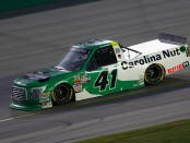 Ben Rhodes racing in the Buckle Up in Your Truck 225 at Kentucky Speedway (Getty Images)
