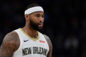DeMarcus Cousins is seen here as a member of the New Orleans Pelicans (Getty Images)