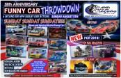 58th Anniversary Funny Car Throwdown at Island Dragway (Photo by Island Dragway)