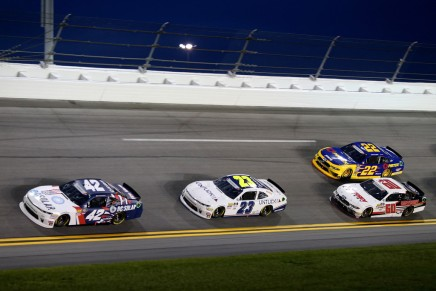 Haley frustrated as Larson credited with thewin