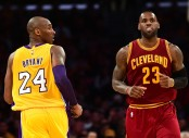 Kobe Bryant and LeBron James (Getty Images)